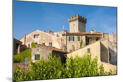 Medieval Fortress, Capalbio, Grosseto Province, Tuscany, Italy-Nico Tondini-Mounted Photographic Print