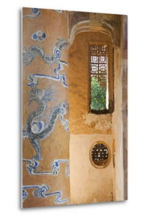 Vietnam, Hue. Tomb of Emperor Tu Duc-Walter Bibikow-Metal Print