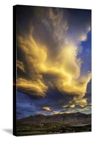 Cloud Burst - Chile-Art Wolfe-Stretched Canvas Print