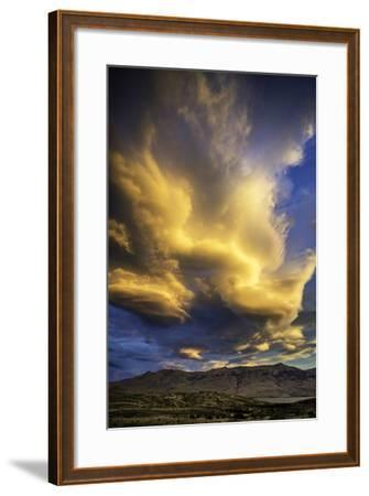 Cloud Burst - Chile-Art Wolfe-Framed Photographic Print
