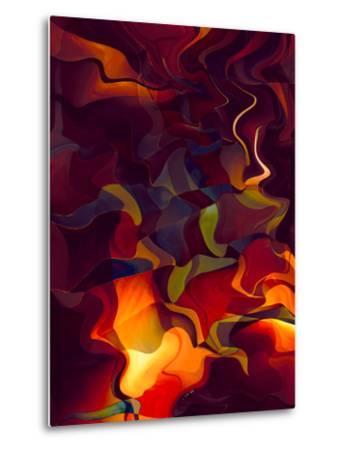 Odyssey in Vermillion-Doug Chinnery-Metal Print