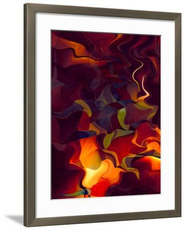 Odyssey in Vermillion-Doug Chinnery-Framed Photographic Print