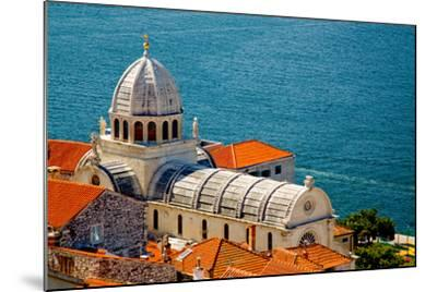 Cathedral of St. James in Sibenik, Croatia-Lucertolone-Mounted Photo