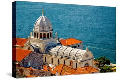 Cathedral of St. James in Sibenik, Croatia-Lucertolone-Stretched Canvas Print