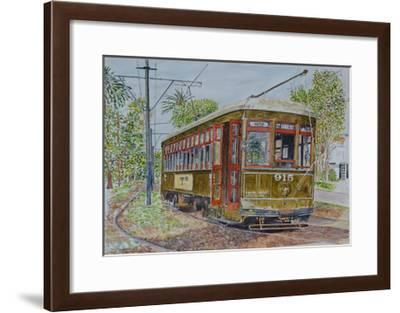 St. Charles Streetcar, 2008-Anthony Butera-Framed Giclee Print