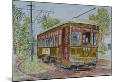 St. Charles Streetcar, 2008-Anthony Butera-Mounted Giclee Print