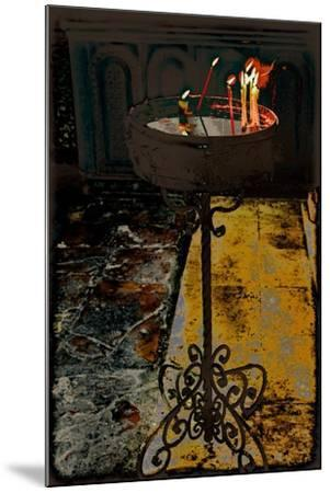 Devotional Candles; from the Series Church of the Holy Sepulchre, 2016-Joy Lions-Mounted Giclee Print