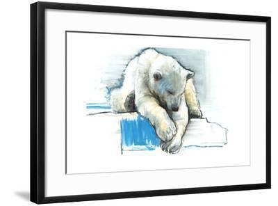 Over the Edge, 2016-Mark Adlington-Framed Giclee Print
