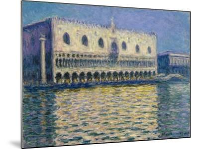The Doges Palace-Claude Monet-Mounted Giclee Print
