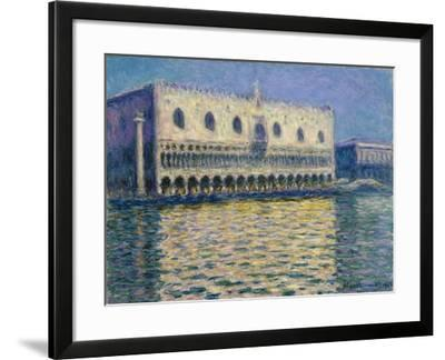 The Doges Palace-Claude Monet-Framed Giclee Print