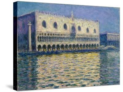 The Doges Palace-Claude Monet-Stretched Canvas Print