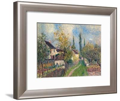 Les Sablons, 1883-Alfred Sisley-Framed Giclee Print