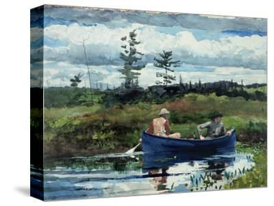The Blue Boat, 1892-Winslow Homer-Stretched Canvas Print
