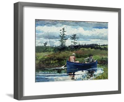 The Blue Boat, 1892-Winslow Homer-Framed Giclee Print