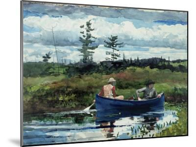 The Blue Boat, 1892-Winslow Homer-Mounted Giclee Print