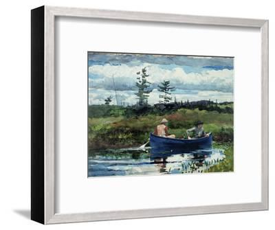 The Blue Boat, 1892-Winslow Homer-Framed Premium Giclee Print