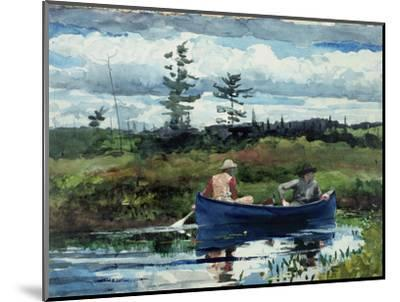 The Blue Boat, 1892-Winslow Homer-Mounted Premium Giclee Print