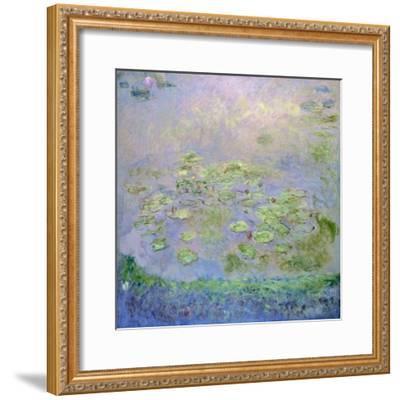 Water Lilies, C1915-Claude Monet-Framed Giclee Print