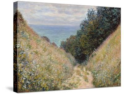 Pourville, 1882-Claude Monet-Stretched Canvas Print