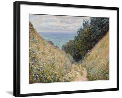 Pourville, 1882-Claude Monet-Framed Giclee Print