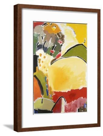 Yellow Hill-Kim Parker-Framed Giclee Print