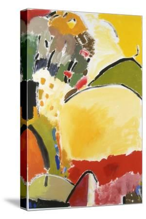 Yellow Hill-Kim Parker-Stretched Canvas Print