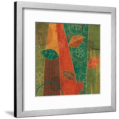 Bohemian Leaves II-Veronique Charron-Framed Art Print