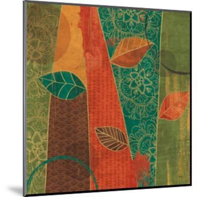 Bohemian Leaves II-Veronique Charron-Mounted Art Print