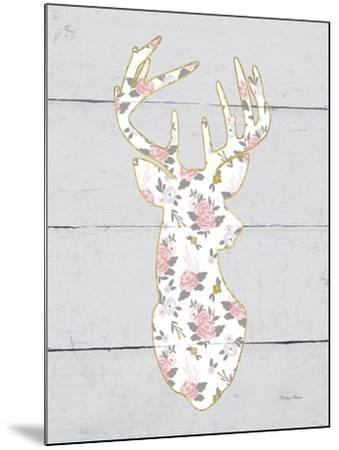 Floral Deer I-Cleonique Hilsaca-Mounted Premium Giclee Print