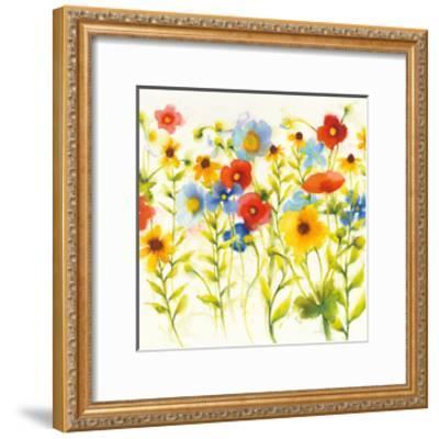 Americana Meadow I Crop-Shirley Novak-Framed Art Print