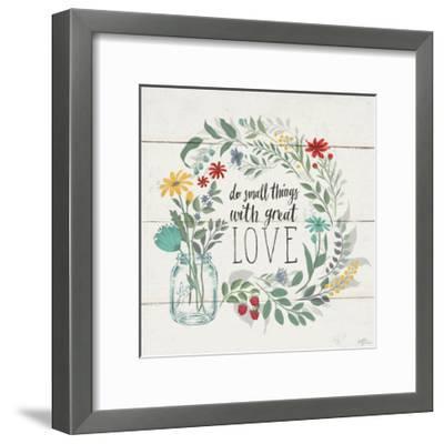 Blooming Thoughts IV-Janelle Penner-Framed Art Print