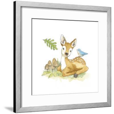 Baby Woodland III-Beth Grove-Framed Art Print