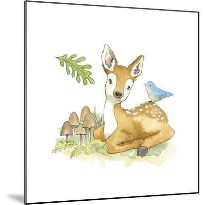 Baby Woodland III-Beth Grove-Mounted Art Print