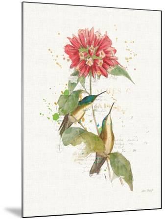 Colorful Hummingbirds I-Katie Pertiet-Mounted Art Print