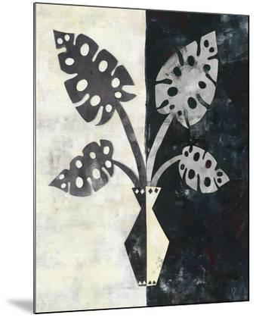 Pretty Palms III Neutral-Wild Apple Portfolio-Mounted Art Print