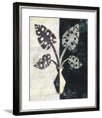 Pretty Palms III Neutral-Wild Apple Portfolio-Framed Art Print