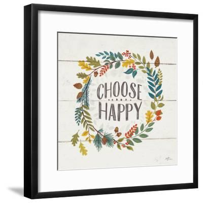 Peace and Lodge III-Janelle Penner-Framed Art Print