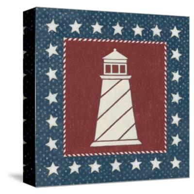 Coastal Americana II-David Carter-Stretched Canvas Print