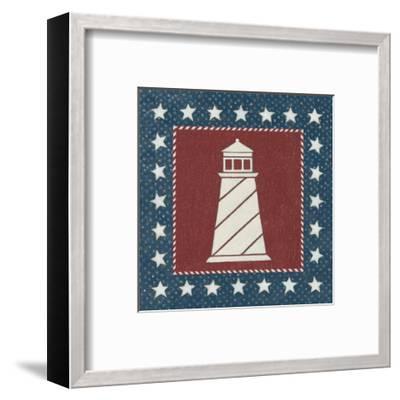 Coastal Americana II-David Carter-Framed Art Print