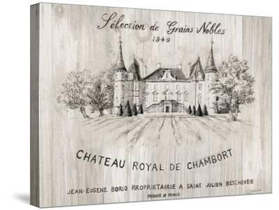 Chateau Chambort on Wood-Danhui Nai-Stretched Canvas Print