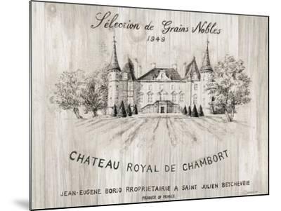 Chateau Chambort on Wood-Danhui Nai-Mounted Art Print