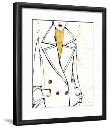 Fashion Strokes I-Anne Tavoletti-Framed Art Print