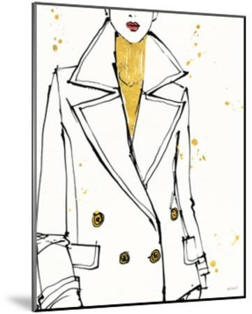 Fashion Strokes I-Anne Tavoletti-Mounted Art Print