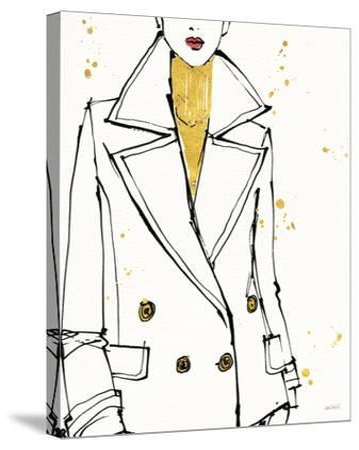 Fashion Strokes I-Anne Tavoletti-Stretched Canvas Print