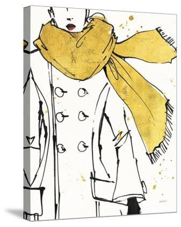Fashion Strokes III-Anne Tavoletti-Stretched Canvas Print