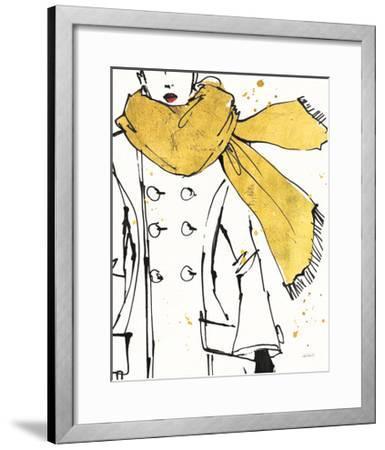Fashion Strokes III-Anne Tavoletti-Framed Art Print