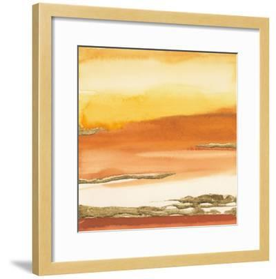 Gilded Amber I V2-Chris Paschke-Framed Art Print