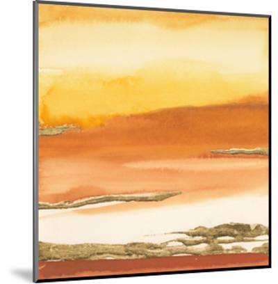 Gilded Amber I V2-Chris Paschke-Mounted Art Print
