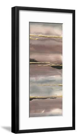 Gilded Morning Fog III Gold-Chris Paschke-Framed Art Print