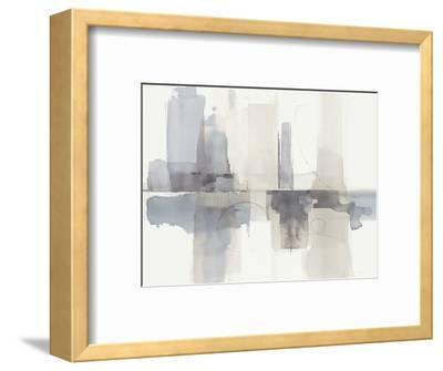 Improvisation II Gray Crop-Mike Schick-Framed Art Print